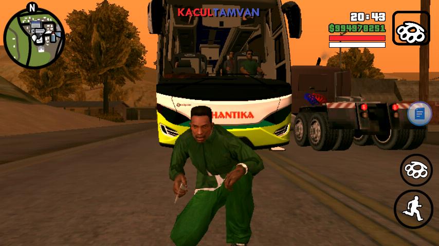 GTA SA Lite Android (Mod Bus Telolet) – Jakasiganteng